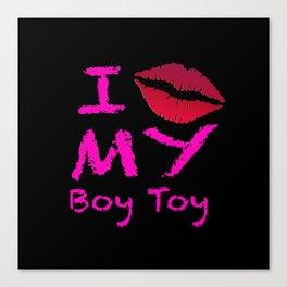 Boy Toy Canvas Print