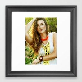 Jessica  Framed Art Print