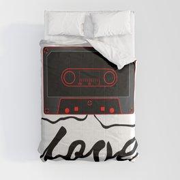 Unwound Love Audio Cassette Comforters