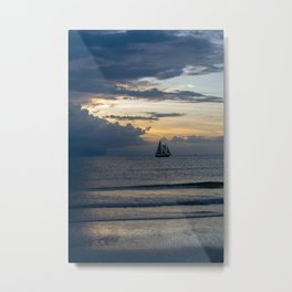 Sailing out of the Storm Metal Print
