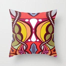 C13D Pattern Construct Throw Pillow