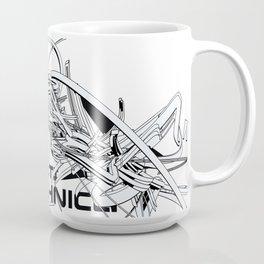 3d graffiti technica - Phased Coffee Mug Coffee Mug