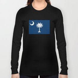 State flag of South Carolina - Authentic version Long Sleeve T-shirt