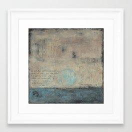 What is Unseen - Corinthians 4:18 Framed Art Print