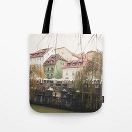 Ljubljana landscape Tote Bag