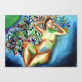 Sario painter, Danae Canvas Print