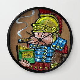 Roman Cigar Ape Wall Clock