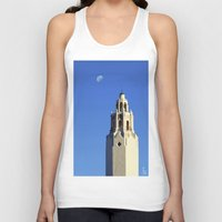 spanish Tank Tops featuring Spanish Tower by TS Photography