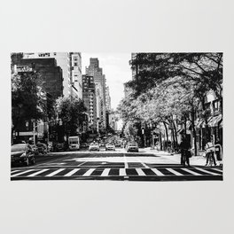 New York City Streets Contrast Rug