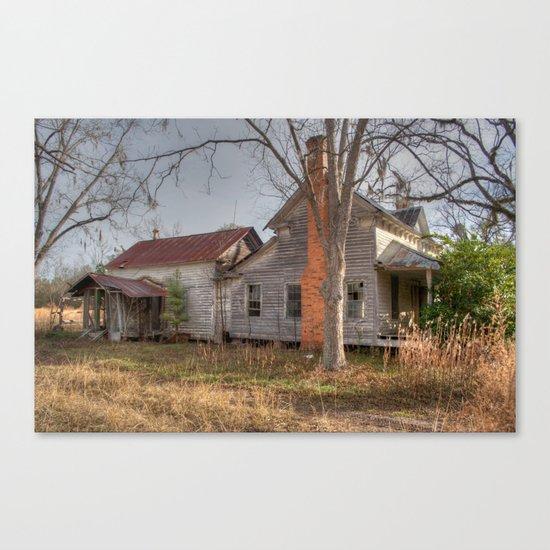 Forgotten Farmhouse Canvas Print