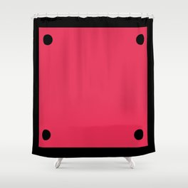 Video Game General Block Shower Curtain