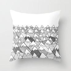 Pattern Hills Throw Pillow