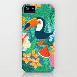 Tropical Flow iPhone Case