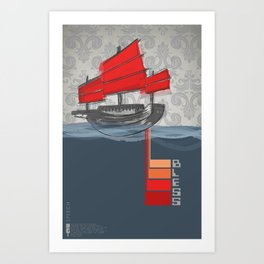 Poster Project   Bless Ship Art Print