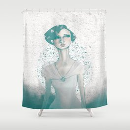 Evoke of Interest Shower Curtain