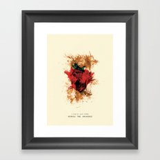 Across The Universe Framed Art Print