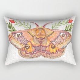 Hawk Moth Rectangular Pillow