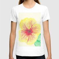 hibiscus T-shirts featuring Hibiscus by merialayne