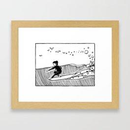""""""" Ocean Spell """" Framed Art Print"""