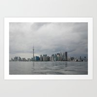 toronto Art Prints featuring Toronto by Ali Inay