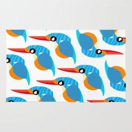 I love kingfisher Rug