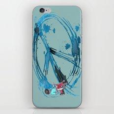 Peace Ain't Hard iPhone & iPod Skin