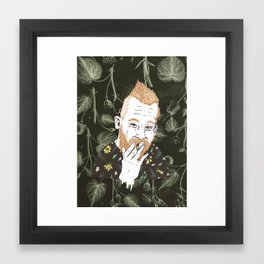 HIMSELF Framed Art Print