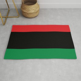 flag of Pan-Africanism or Unia Rug