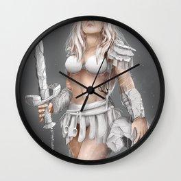 iamamiwhoami; drops - warrior Wall Clock