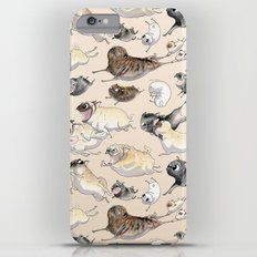 Pugs on the Move Slim Case iPhone 6s Plus