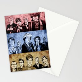 Doctor Who - Three Colours Who Stationery Cards