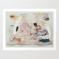 Expired dreams Art Print