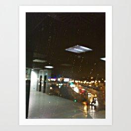 it's raining Art Print