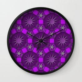 Dodecagons Wall Clock
