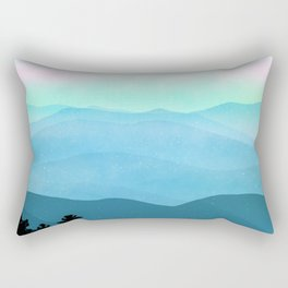 The Great Smoky Mountains Rectangular Pillow