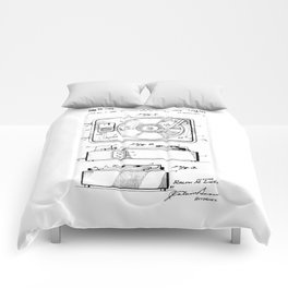 Turntable Patent Comforters