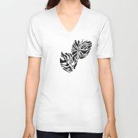 safari V-neck T-shirts featuring Safari by Vikki Salmela