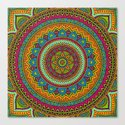 Hippie mandala 53 by mantramandala
