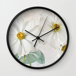 Cosmos in a glass jar Wall Clock