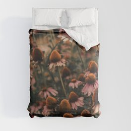 Echinacea Flowers  2 Comforters