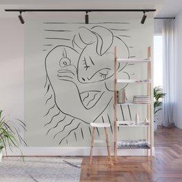 Vintage poster-Henri Matisse-Linear drawings. Wall Mural