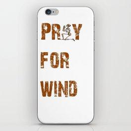 Kitesurfers Pray for Wind iPhone Skin
