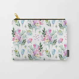 Flower pattern: watercolor Carry-All Pouch