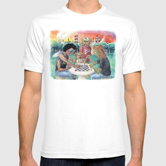 Mutant League Checkers T-shirt
