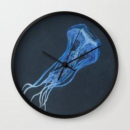 jellyfish of the deep Wall Clock