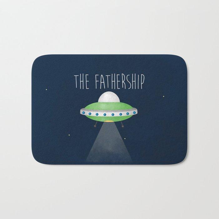 The Fathership Bath Mat