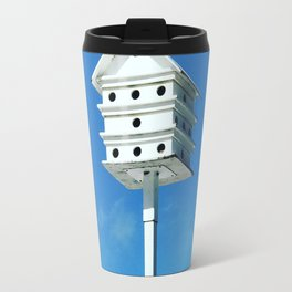 Condo with bird's eye view Travel Mug