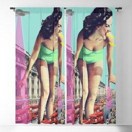 Rush Hour Madness Blackout Curtain
