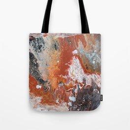 Night Fire Tote Bag