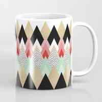 princess Mugs featuring Princess by Elisabeth Fredriksson